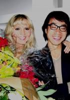With Lifu Hsjao-My student and Fashion Designer